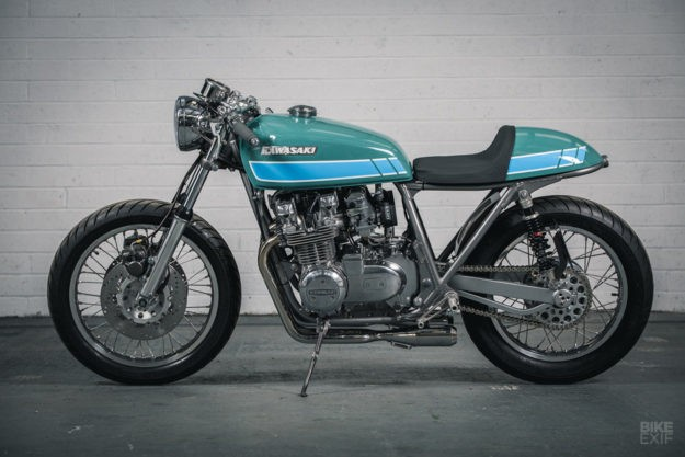 Forged From Passion: A blacksmith's take on the Z650 | Bike EXIF