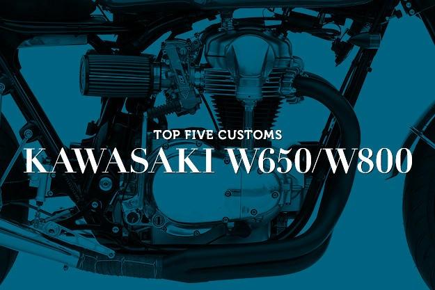 Top 5 Kawasaki W650/W800 customs