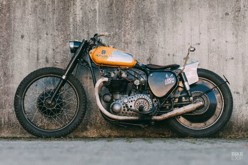A patina-laden BSA A10 from a DIY workshop in Bavaria