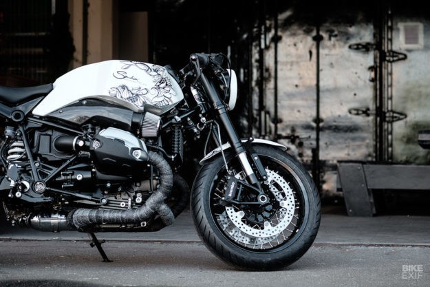 Ghost Dog: A BMW R nineT with Samurai style