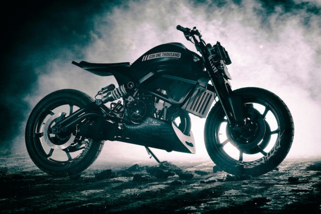 Hell On Wheels: ICON 1000's Kawasaki Vulcan tracker