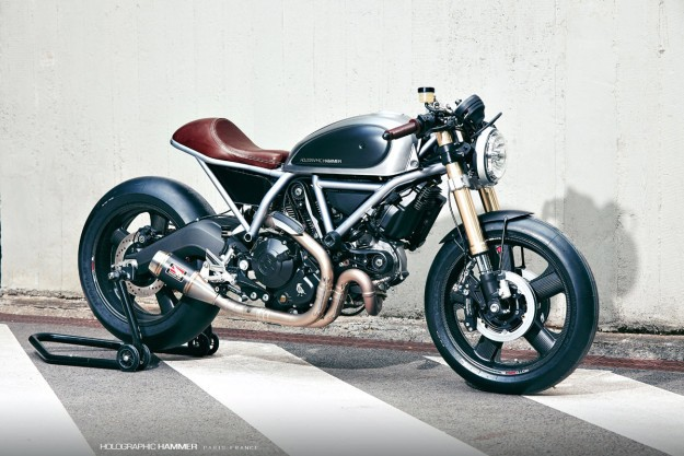 Hero 01: Holographic Hammer's Ducati Scrambler