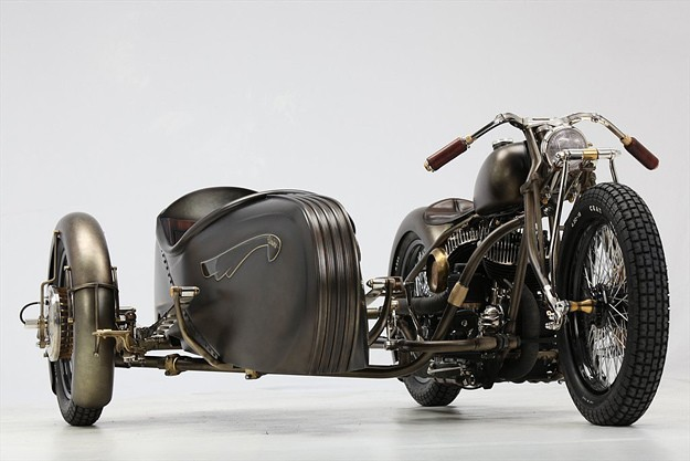 Harley-Davidson sidecar: the Abnormal Cycles Union