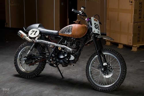 Heroic Failure: Flat tracking the Sinnis Scrambler