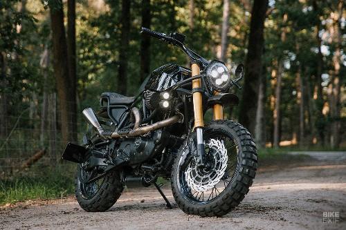Lightning strike: A Buell X1 scrambler by Moto Adonis
