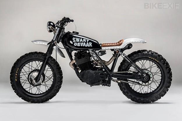 Honda XL500 'Swart Gevaar'