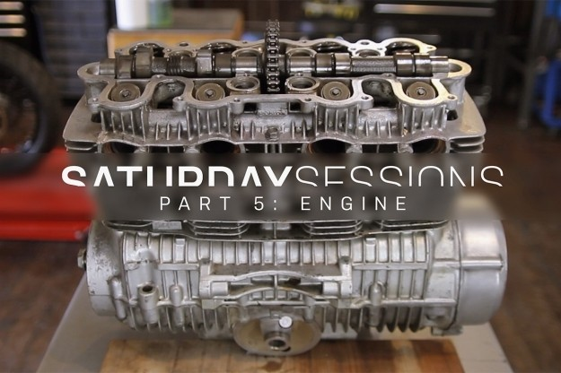 Motorcycle restoration: The engine