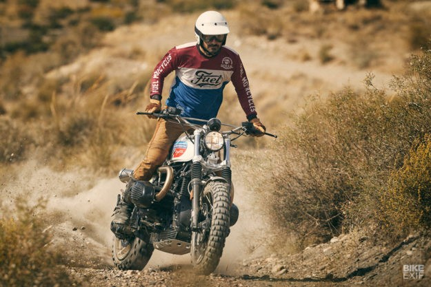 Coyote: How to turn the BMW R nineT into a desert sled