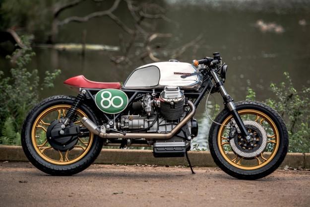 Tricolore Treat: Wolf Moto's Guzzi LeMans