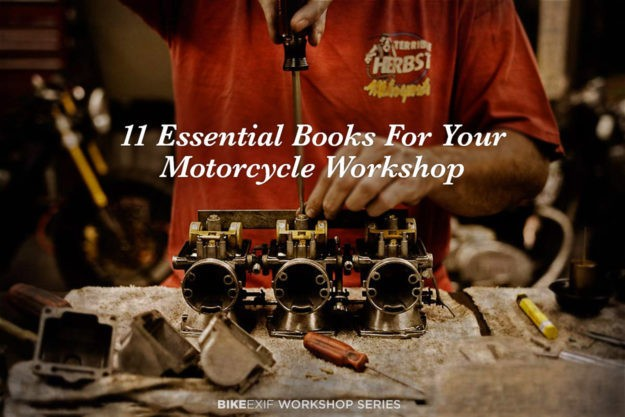 11 Essential Books For Your Motorcycle Workshop