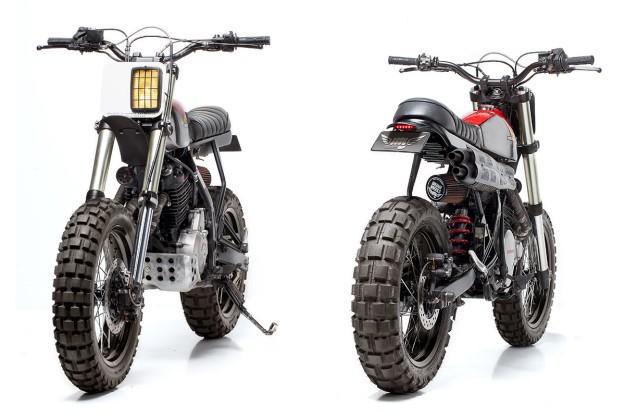 Double Act: Dream Wheels' custom scrambler