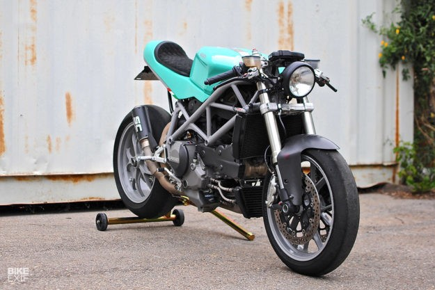 Can-Am Cafe: A Ducati 848 with dual nationality | Bike EXIF