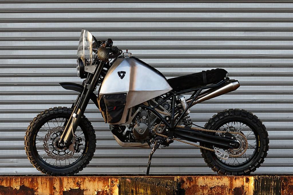 Two-wheel drive beast: The REV'IT! #95 | Bike EXIF