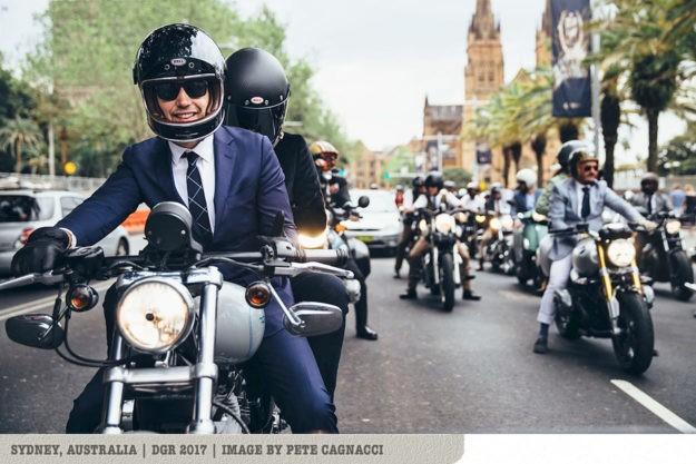 Bike EXIF joins The Distinguished Gentleman's Ride