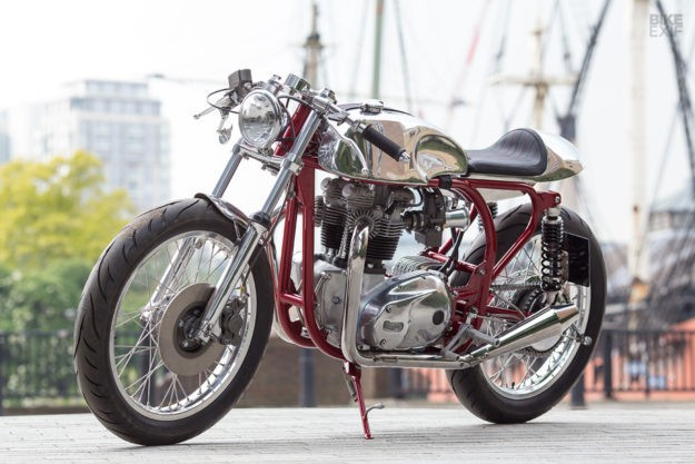 Best of Breed: A Triton cafe racer by Foundry Motorcycle