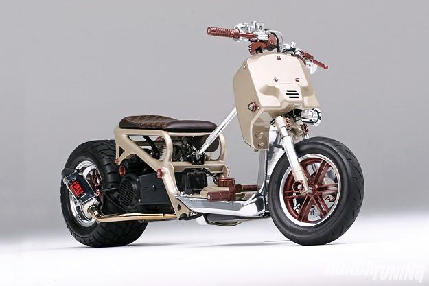 Honda Ruckus custom