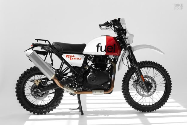 A Dakar-Inspired Royal Enfield Himalayan from Fuel