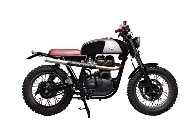 Here Comes Royal Enfield: Analog's custom Continental