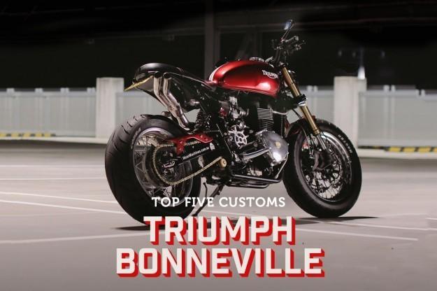 Top 5 Triumph Bonneville customs