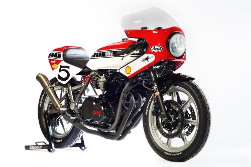 Flying Dutchman: a Yamaha XS850 racer from Holland