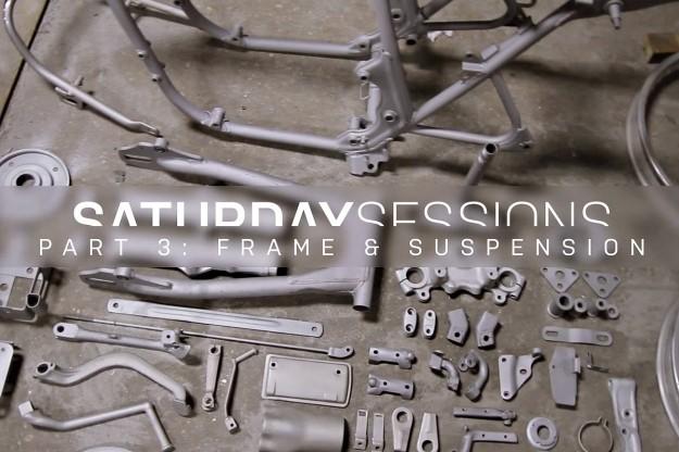 Motorcycle restoration: the frame