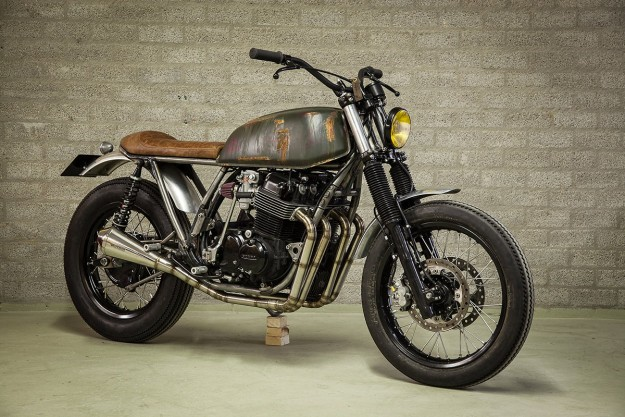 Digging Deep: A rusty CB750F2 from Outsiders