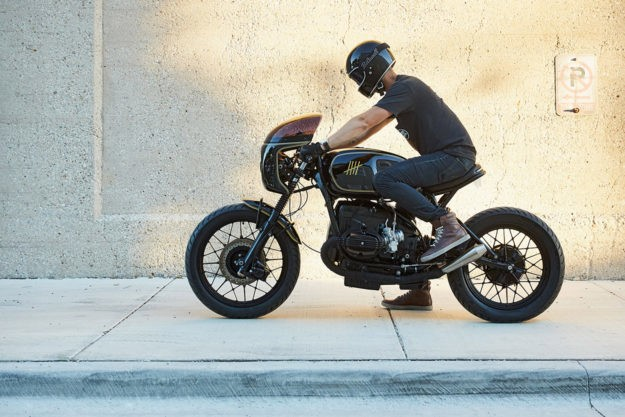Sibling Rivalry: A BMW R100 cafe racer from Federal