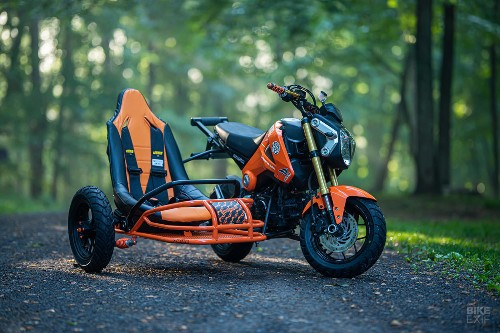 Project Angel: A Grom and sidecar from Industrial Moto