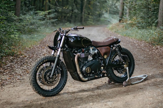 Suits you, Sir: Triumph T120 by Old Empire Motorcycles