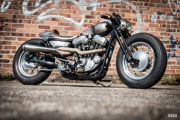 Old Iron: A vintage-style Harley Sportster custom