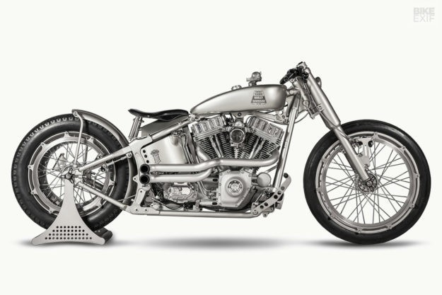 Iron Riot: Harley Softail custom by One Way Machine