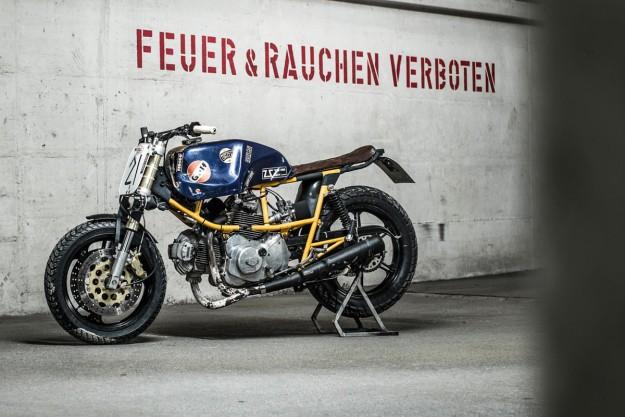Resterampe: Hermann Köpf's Ducati Pantah 500