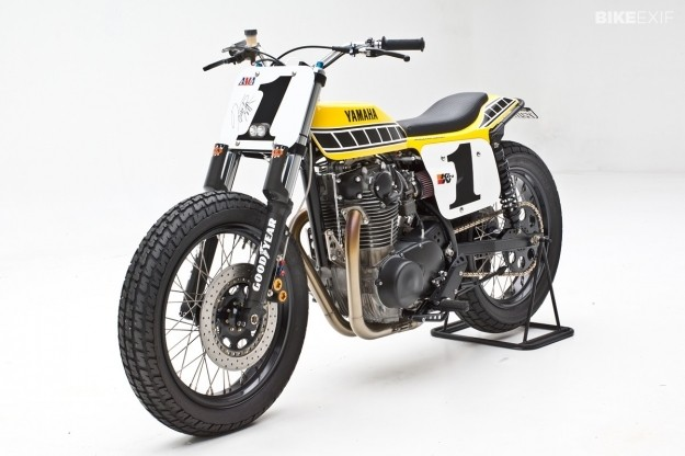 Yamaha dirt tracker by Jeff Palhegyi