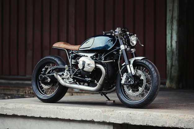 Remaking The BMW R nineT, Paris Style