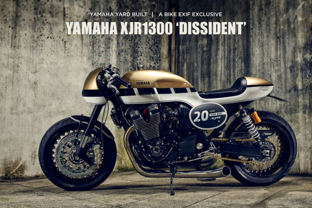Dissident: A new Yamaha Yard Built XJR1300