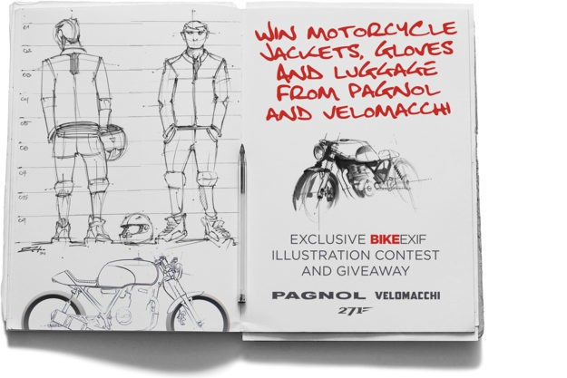 Win motorcycle gear from Pagnol and Velomacchi