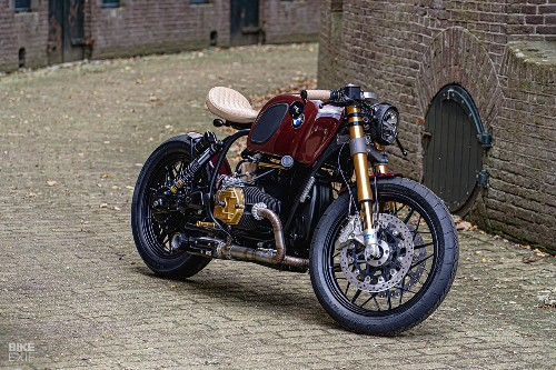 Knockout Krauser: A four-valve R100 from Ironwood