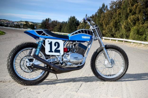 Smoking hot: Peter Rowland's Yamaha RD350