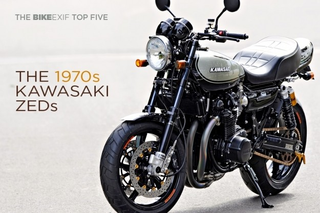 Top 5 Kawasaki Z1 and Z1000 customs