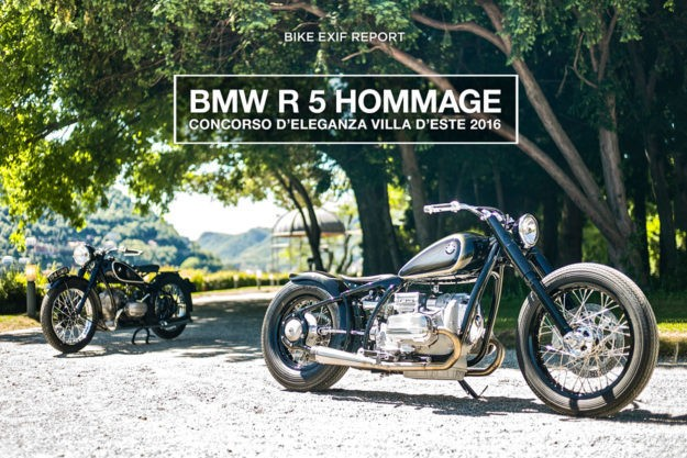 Vintage Meets Custom: BMW Remakes The Iconic R5