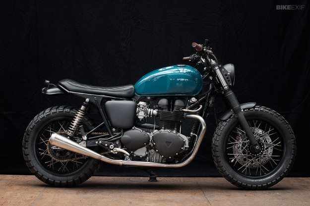 The Wrenchmonkees take on the Triumph Thruxton