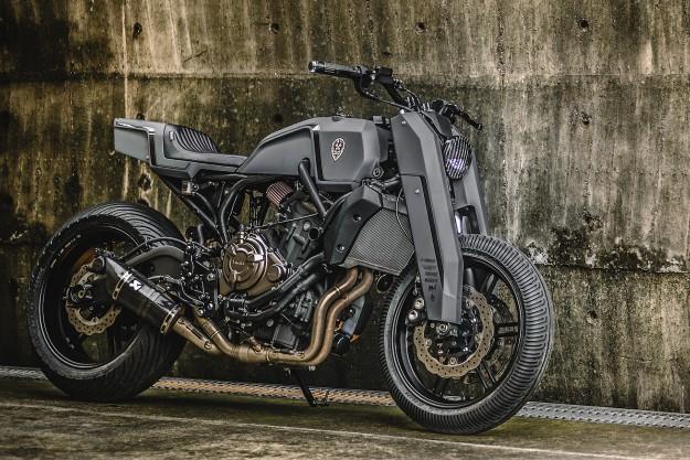 Onyx Blade: Rough Crafts' Razor-Sharp Yamaha MT-07
