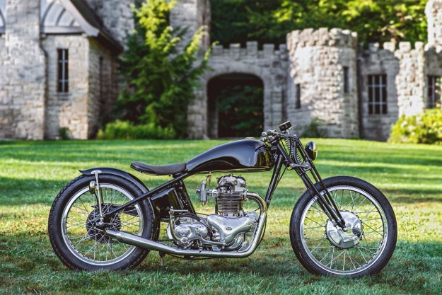 From rust to gold: The Gasbox Norton Dominator