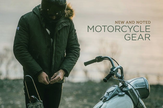 New and Noted: Motorcycle Gear