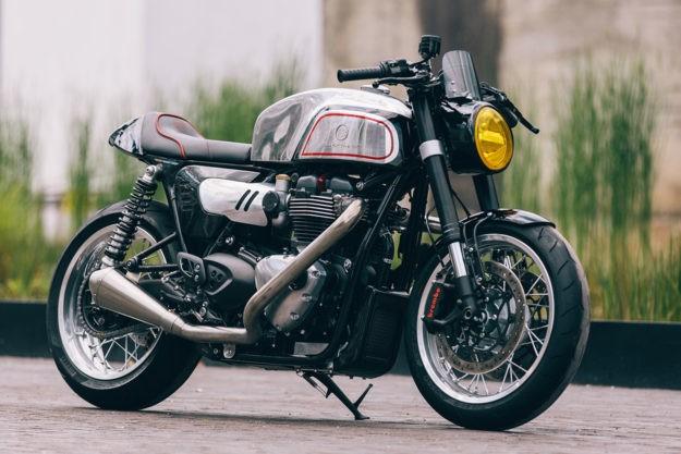 Modern Manx: Blacktrack Motors' custom Thruxton