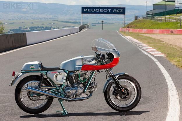 Ducati 860SS replica