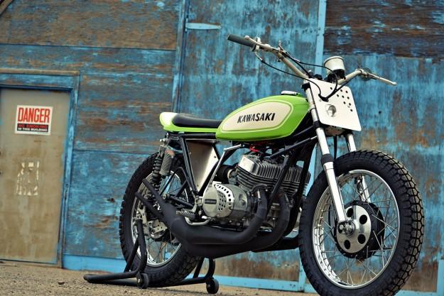 The Mach Chicken: A smokin' Kawasaki S1 tracker