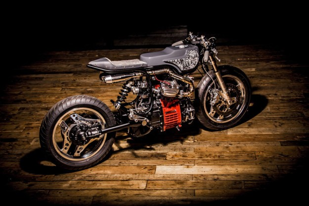 Turning Japanese: Ed Turner remodels the CX500