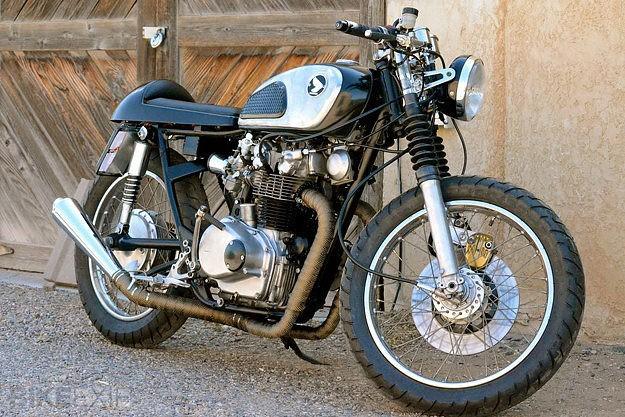 Honda CB450 K1 resto-mod