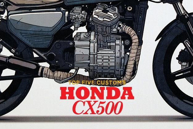 Top 5 Honda CX500s